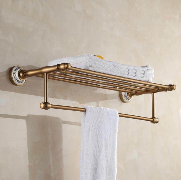 Online-Shop Badezimmer wandhalterung Antique Aluminium handtuch ...