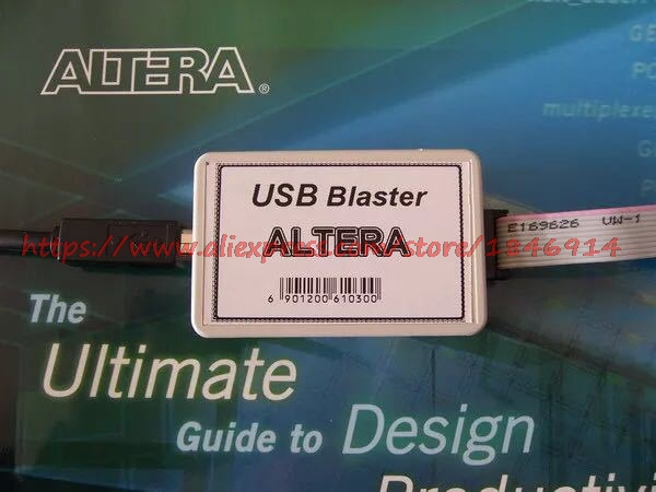 Free Shipping    ALTERA FPGA USB BLASTER Download Cable Programmer Download Cable