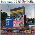 Leemanled Высокое quanlity периметру рекламный светодиодный дисплей спортивные игры светодиодный дисплей панели щитов p10