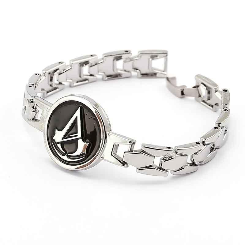 Assassins Creed Bracelets men women Assassins Creed 3 Game Chain Zinc Alloy charm Bracelet male jewelry
