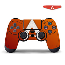 For Apex Legends Controller Skin Stickers with Led Light Bar Sticker For PlayStation4 Game Controller For PS4 Slim Pro Stickers