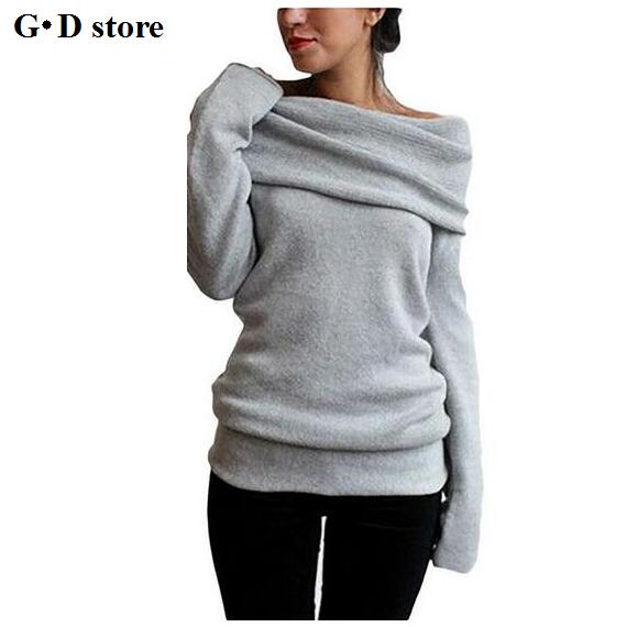 Hot Sweaters Knitted pullover Sweater Women Sweater Jumper Women Sweaters  Pull Femme Winter Long sleeve Wool 685b0b326464