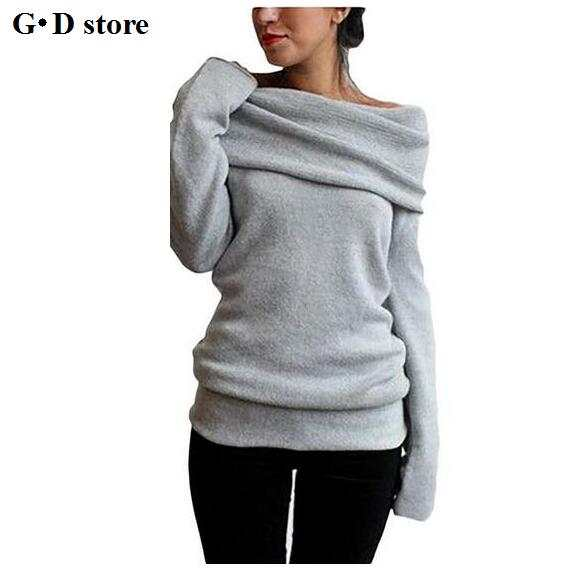 Us 2086 Hot Sweaters Knitted Pullover Sweater Women Sweater Jumper Women Sweaters Pull Femme Winter Long Sleeve Wool Female In Pullovers From
