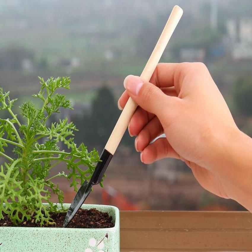 Vendita caldo 3 pz / set mini kit di utensili da giardino a mano - Attrezzi da giardinaggio - Fotografia 3