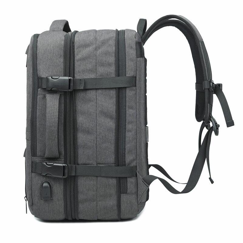 Backpack Men New Business Multifunctional USB Charging 17.3 Inch Laptop Backpack Bolsa Mochila Waterproof Travel School Bag