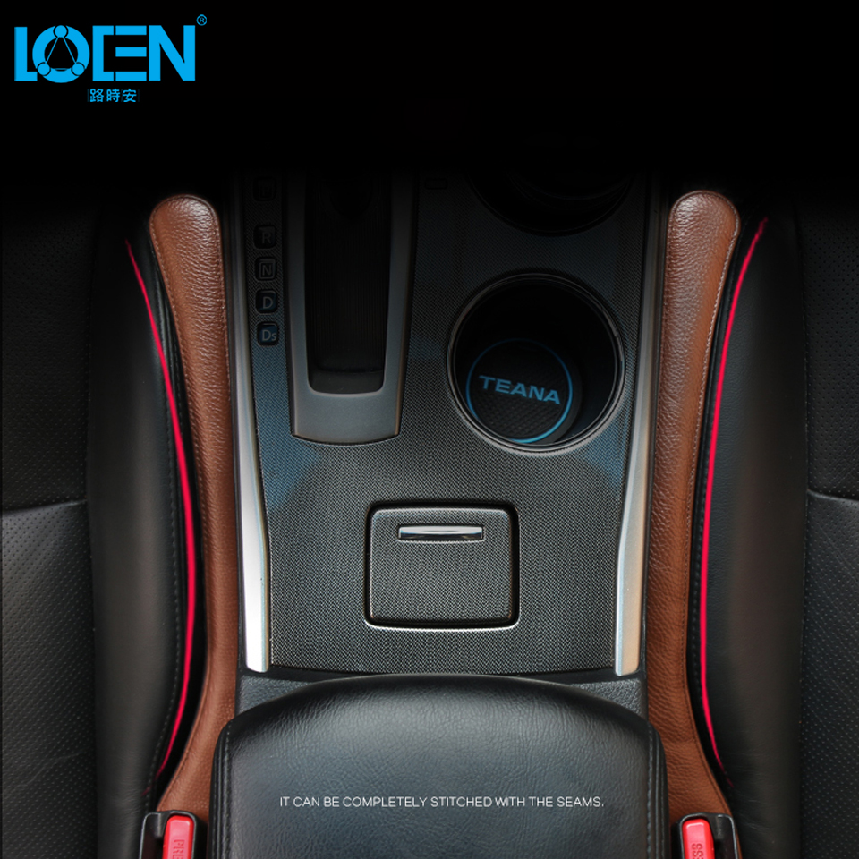 Padding-Spacer Holster Seat Gap-Filler Car-Styling Positive Universal Genuine-Leather