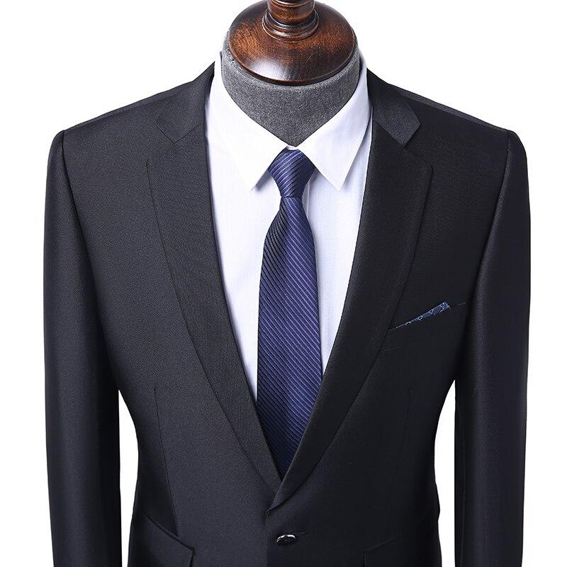 Prom Smoking Hose Schwarz Set Bräutigam Slim Marke Hochzeit Anzug Neue Männer Business Sanfte Formale Fit 2018 Jacke Stil Blazer Terno RBgqq