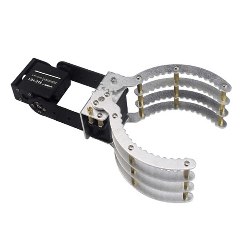 LOBOT 2DOF Metal RC Robot Arm Gripper Com Servo Digital