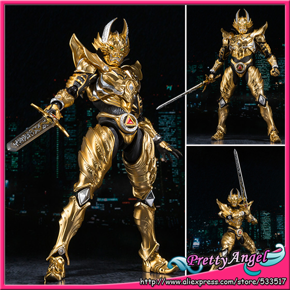 PrettyAngel -  Genuine Bandai Tamashii Nations S.H.Figuarts Exclusive GARO Action Figure - Garo Ryuga KONJIKI Ver. 100% original bandai tamashii nations s h figuarts shf exclusive action figure garo leon kokuin ver from garo