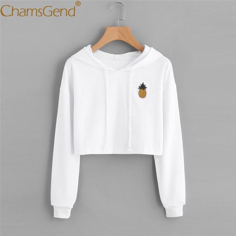 Chamsgend Hoodies Sweatshirts Women Girl