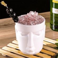 500ml White Hawaii Tiki Mugs Cocktail Cup Beer Beverage Mug Wine Ceramic Easter Islander Bar Tool