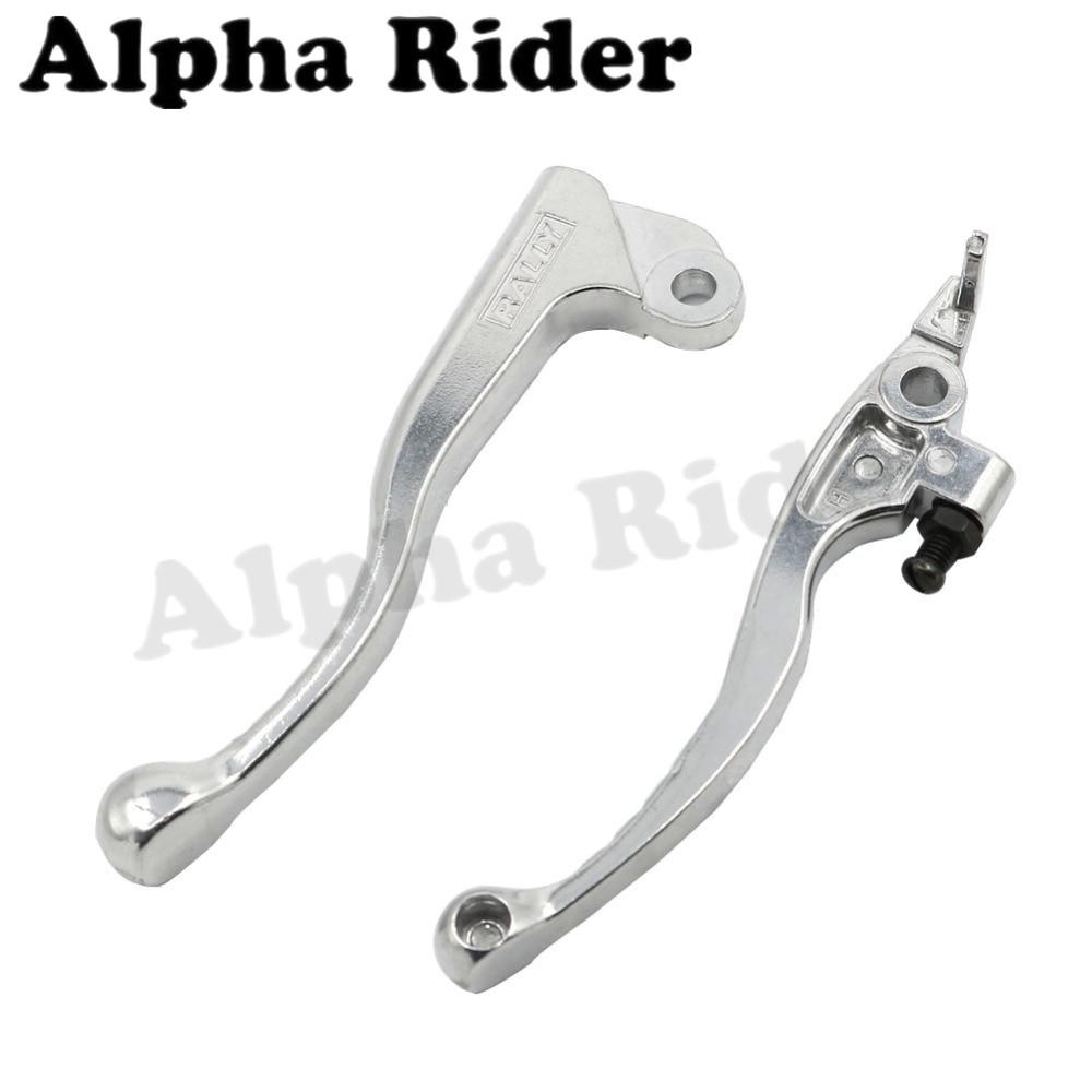 Pivot Brake Clutch Levers for Honda CRM250R/CRM250AR 1994-1998 XR250/MOTARD 1995-2007 XR400 MOTARD 2005-2008 XR650R 2000-2006 cnc dirt bike flex pivot brake clutch levers for honda crm250r ar xr250 400 motard