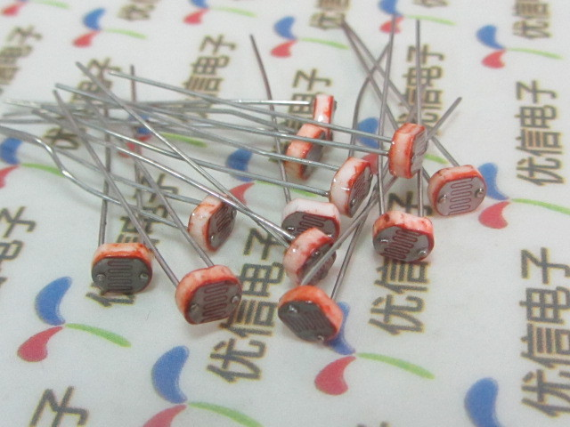 100 pcs GL5537 5MM Photoresistor Photoelectric Detection Switch ...
