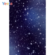 Yeele Wallpaper Blue Background Fallen Star Dream Photography Backdrops Personalized Photographic Backgrounds For Photo Studio