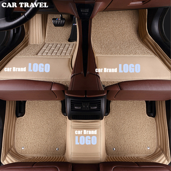 CAR TRAVEL Customized car floor mats for Jaguar XF XE XK XJL F-PACE F-TYPE E-PACE brand firm soft auto accessories car-styling