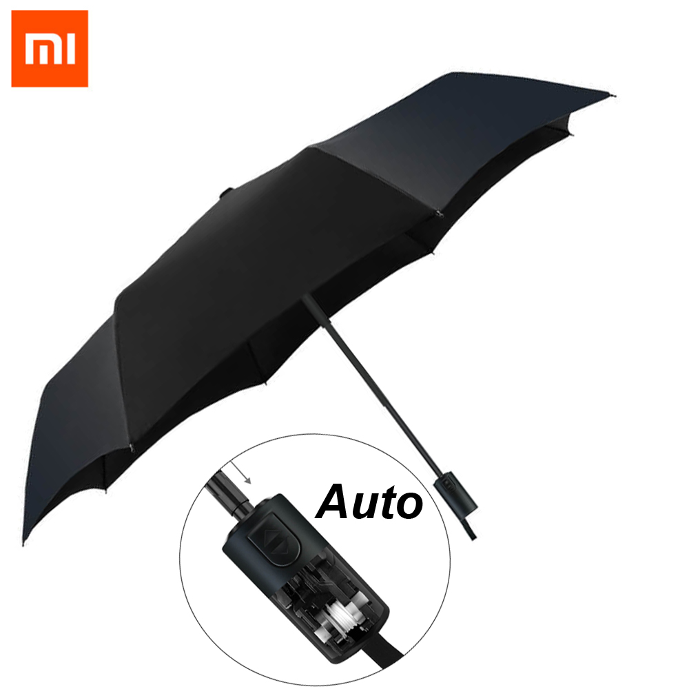 Original Xiaomi Mijia Pinluo Automatic Sunny Rainy Aluminum Windproof Waterproof UV Man and woman Summer Winter мужские часы pierre ricaud p91082 b114q