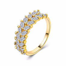Silver 925 ring gold Emerald diamond Maisui Womens Zircon Ring Rose golden jade crystal Indian jewelry opal  cubic B989