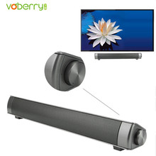 VOBERRY Wireless Bluetooth Speaker LP-08 Slim Magnetic Stereo Sound Subwoofer HIFI Boombox Stereo Portable Handsfree For TV PC