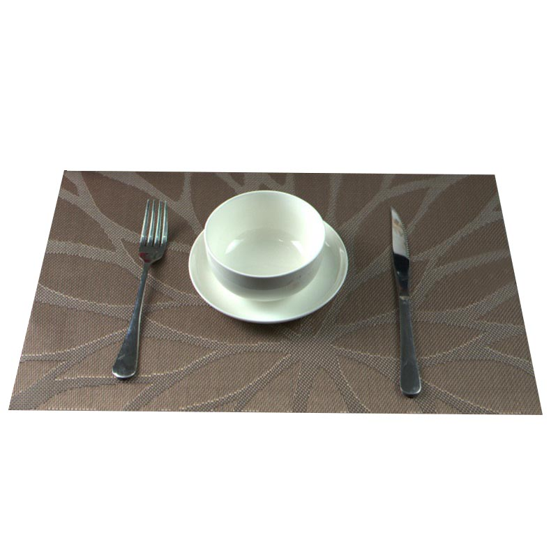 Durable Home Pvc Placemat Dining Table Mats Western Bottle