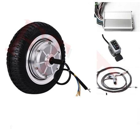 9 500w 36v electric brushless gearless hub motor for 500w hub motor kit