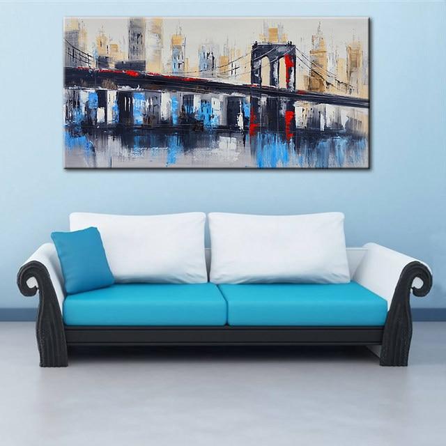 Tienda Online Ciudad de Nueva York Puente de Brooklyn Con Textura ...