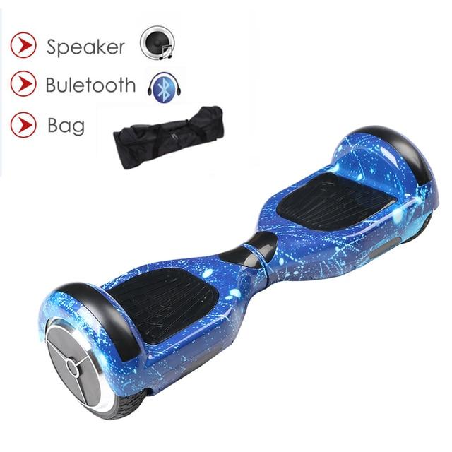Ховербордом self баланс удар gyroscoot электрический скутер скейтборд oxboard Электрический hoverboard 6.5 дюймов два колеса Hover доска