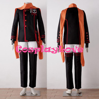High Quality Stock Japanese Anime D.Gray man Lavi Cosplay Costumes