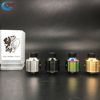 Hot Hadaly Citadel RDA electronic cigarett Atomizers With Wide Bore Drip Tip 22MM Diameter e Huge Vapor Fit 510 Mod Vaporizer цена 2017