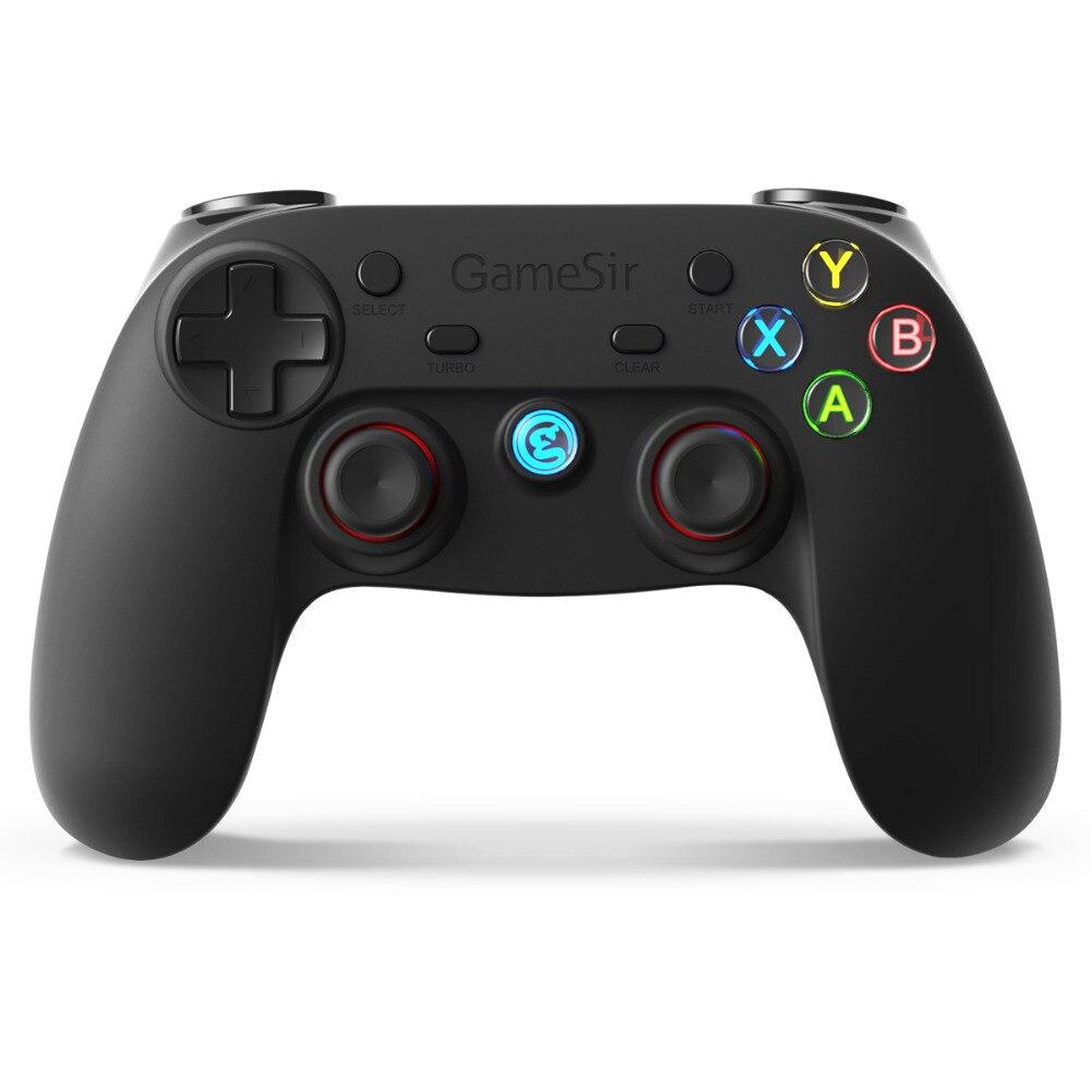 G3s GameSir Controlador de Jogo Sem Fio para Smartphones Android, Tablet, Smart TV, Caixa de TV, Windows 10/8. 1/8/7, PS3 e Engrenagem VR