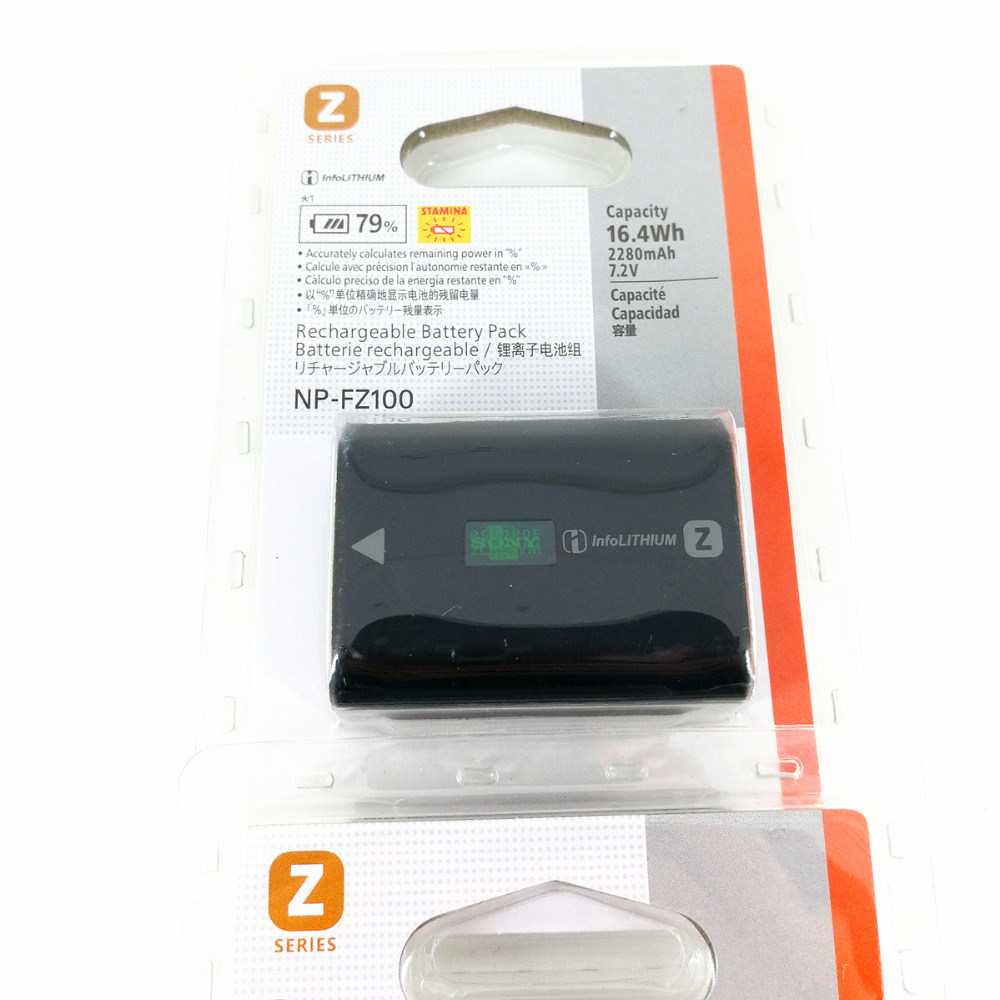 NP-FZ100 NP FZ100 Batterie pour Appareil Photo Sony A9/A7R III/A7 III/ILCE-9 ILCE9 ILCE-7RM3 ILCE-7M3 Mark III comme NPF100