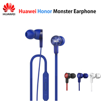 Original Huawei Honor Monster Earphone AM15 With Mic Noise Cancelling Headset for Mobile Phones Huawei Honor 9 Mate 8/9 P10