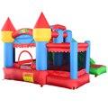 ENVÍO LIBRE de DHL Residencial nylon castillo hinchable inflables castillo inflable combo tobogán inflable con piscina de bolas