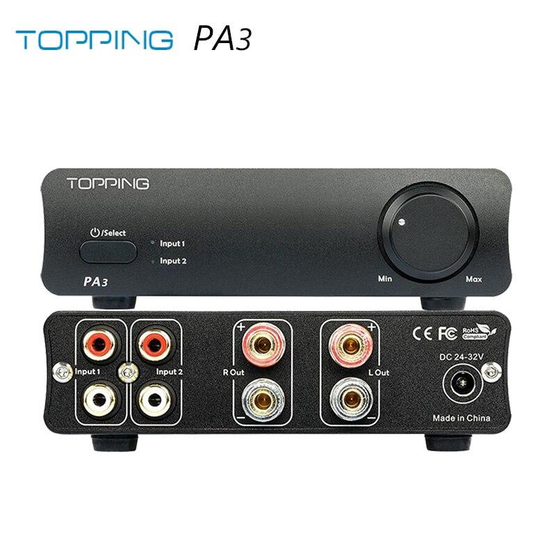 Топпинг PA3 Настольный Hi Fi цифровой усилитель