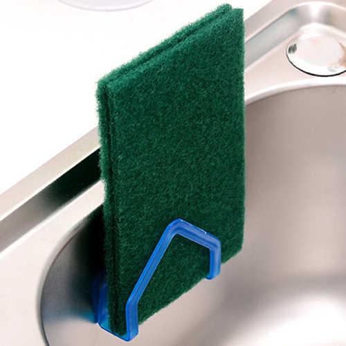 Gąbka kuchenna do przechowywania Rack ssania ścierki do naczyń ścierka do naczyń Rack wiszące uchwyt przyssawka mydło wiszące półki narzędzia kuchenne