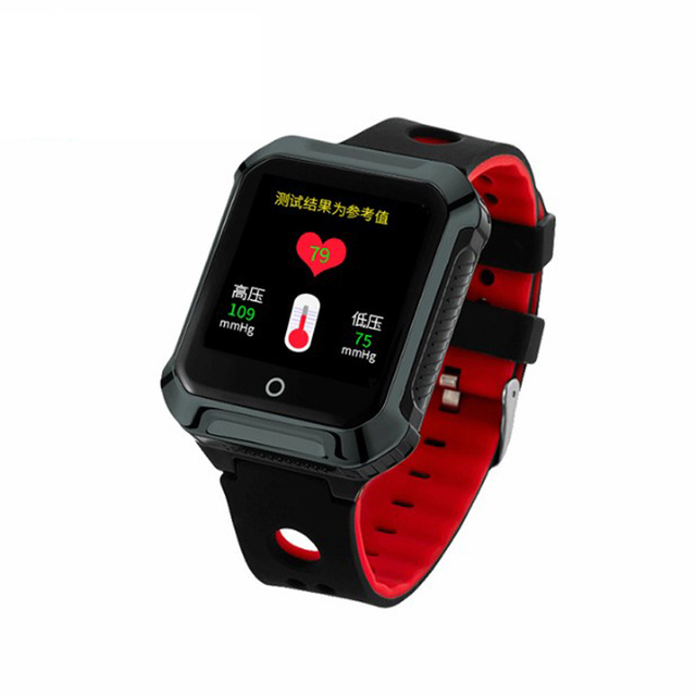 ae57c1c6b 2018 Top Fall dwon alarm GPS Tracker sos panic button gsm gprs Smart Watch  gps tracker Heart Rate and Blood Pressure