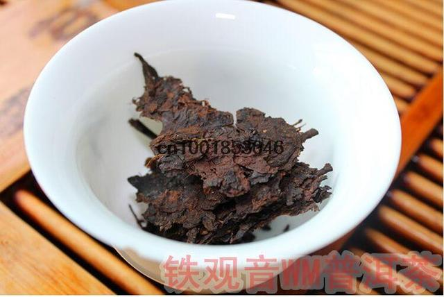 The 1991 health care chinese brick puer tea  pu er tea pu erh tea ripe lose weight pu'er puerh tea year more than 20 years old