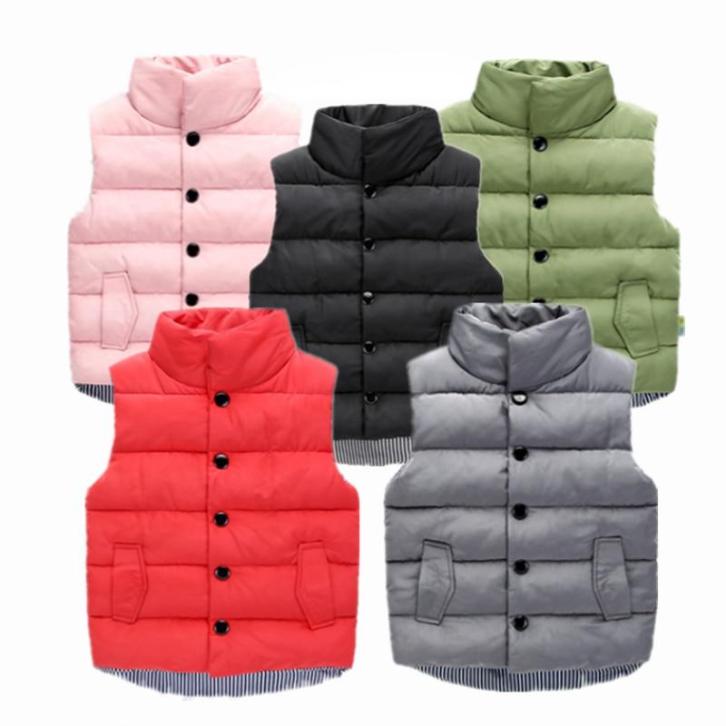 Goodkids Toddler Boys Girls Packable Puffer Down Vest Stand Collar Lightweight Sleeveless Jacket Warm Outwear Waistcoat