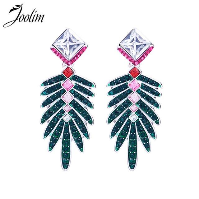 Joolim jewelry wholesalegorgeous summer green leaf earring joolim jewelry wholesalegorgeous summer green leaf earring chandelier earring 2 in 1 convertible earring aloadofball Images