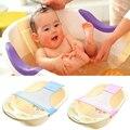 Assento de Banho Do Bebê recém-nascido Banheira Banheira de Bebê Ajustável Anéis Net Banheira Crianças Segurança Infantil Segurança Suporte Do Chuveiro de Bebê