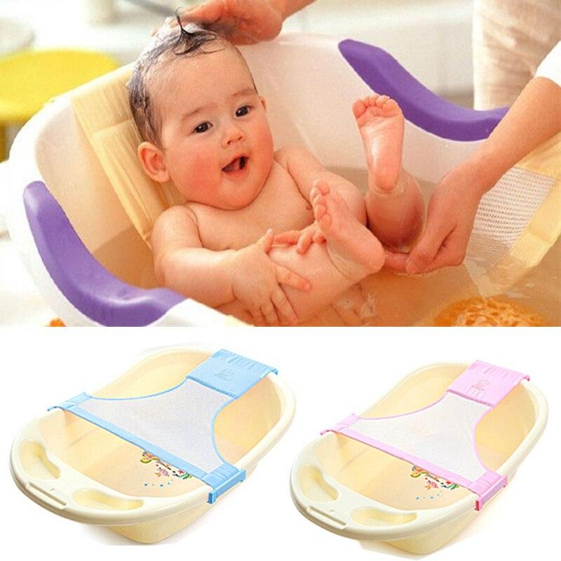 Babypflege Neugeborenen Baby Badewanne Sitz Einstellbare Baby Bath Sicherheit Badewanne Ringe Netto Kinder Badewanne Infant Baby Dusche Sicherheit Unterstützung L1 Babywanne