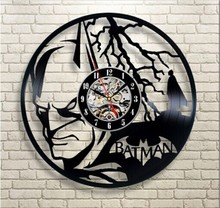 Fashion Creative Clock CD Vinyl Record Wall Clock Theme Home Decor 3D Hanging Watches Duvar Saat Home Decoracion