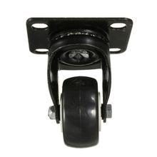 4 шт. Heavy Duty 200 кг 50 мм Поворотный Колёсики Колёса тележка Мебель МНЛЗ резиновые