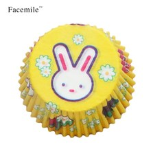 FACEMILE Rabbit Shaped Mold Sugarcraft Gift Pastry Baking Mold Tool baking bakeware mold paper cake cupcake kitchen accessories