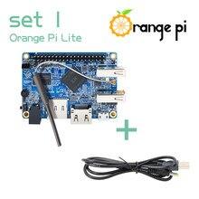 Orange Pi Lite +-Cable de alimentación, compatible con Android, Ubuntu, miniordenador de placa única de código abierto