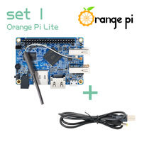 Orange Pi Lite SET1: OPi Lite and  USB to DC 4.0MM - 1.7MM Power Cable Support Android, Ubuntu, Debian