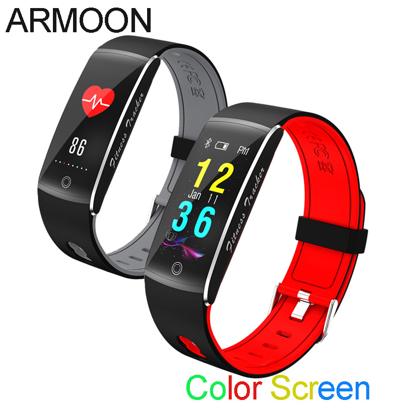 Smart Band F10 Sleep Monitor Fitness Tracker Heart Rate Smart Bracelet Blood Pressure Watch Waterproof Color Screen Sport Band