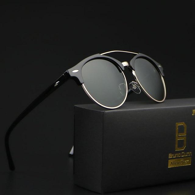 Sunglasses Women Men Polarized luxury Brand Design 2018 Polaroid Lens  Rimless Sunglases for male Ray oculos redondo Gafas lentes 77d2cf79a8
