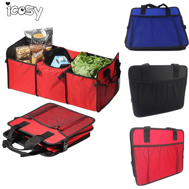 Travel Camping Folding Storage Boxes Clothing Organizer Toys Bins Cubes Basket Bag Styling Containers Home