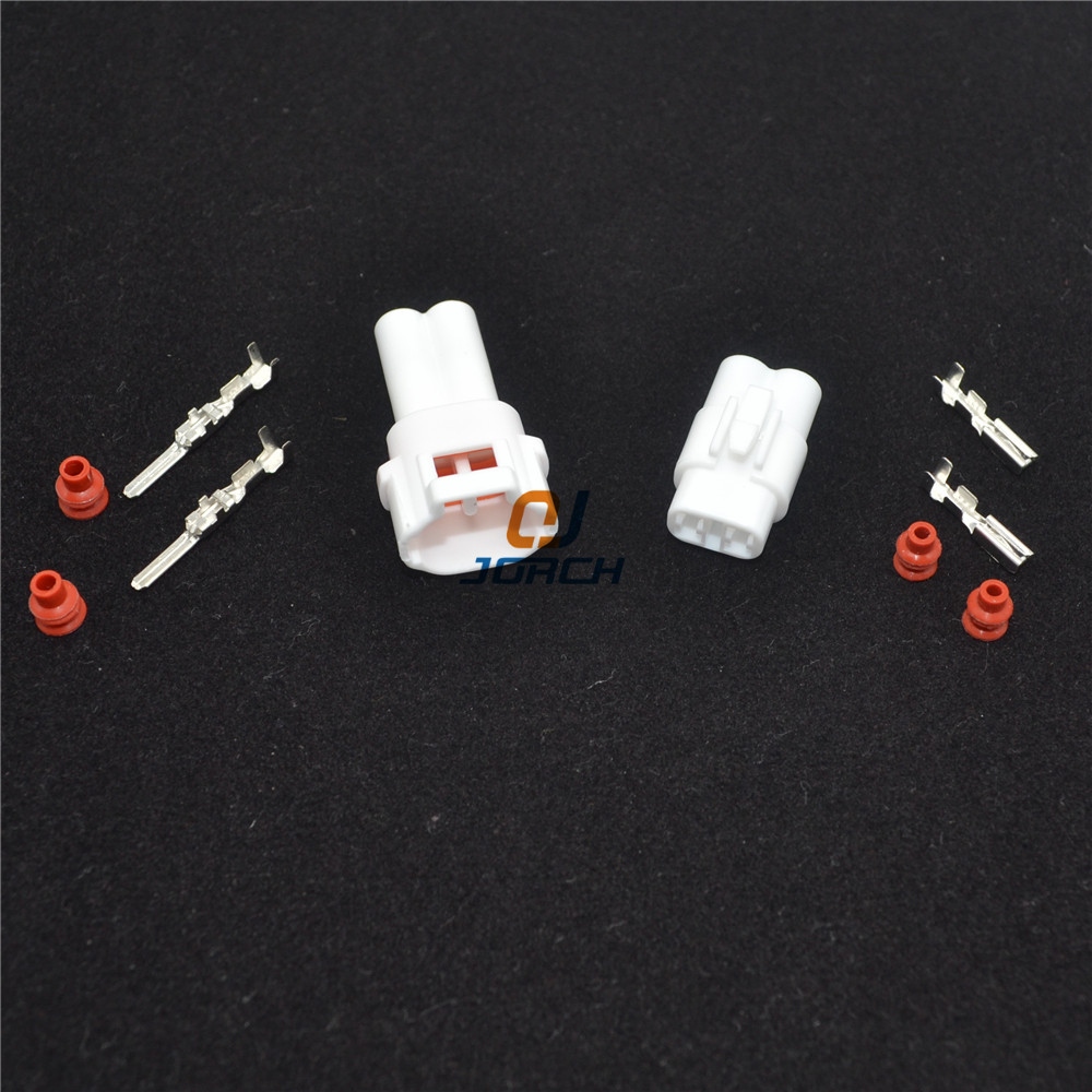 2 Pin Way Wire Connector 2.0mm Car Connector Auto Waterproof Electrical Connectors Kits For Sumitomo 6180-2321/6187-2311