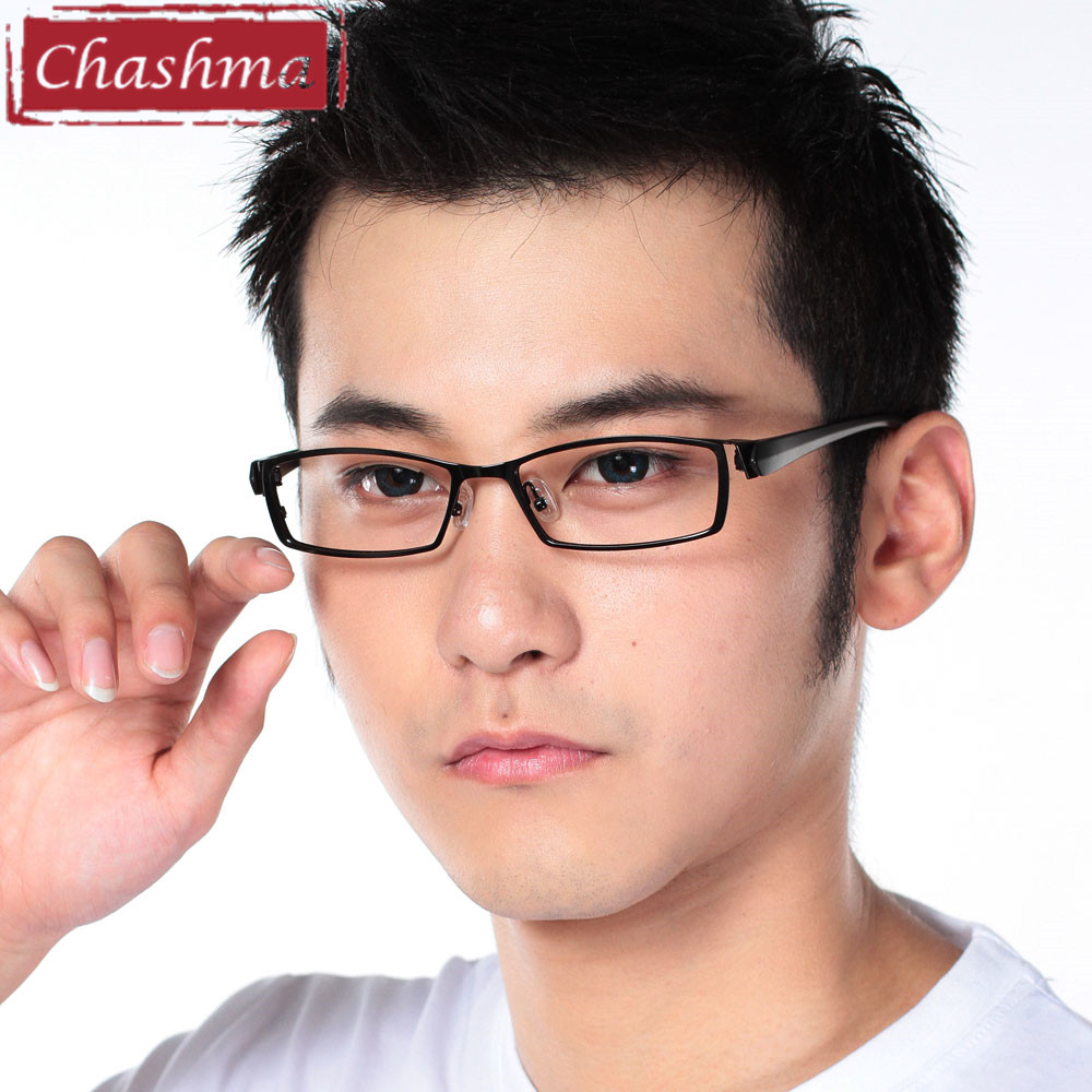 Chashma Mannen Titanium Legering Metalen Brillen Full Frame Ultra - Kledingaccessoires - Foto 5